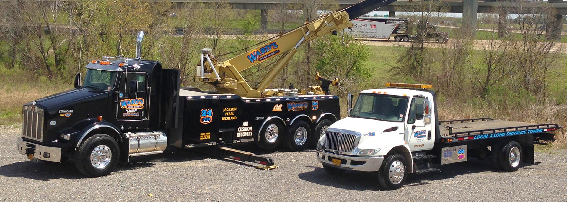 Since 1964, Ward's Wrecker Service has proudly served the Mississippi community, offering a range of services to keep people safe on the road. Call Today!