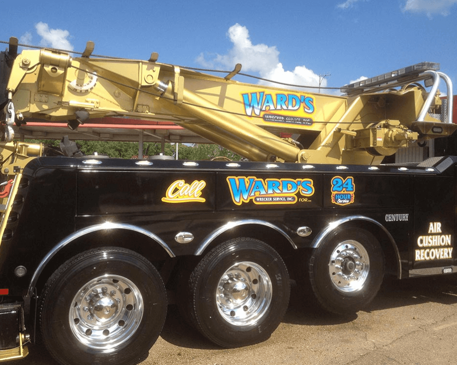 The next time you're stranded roadside, give a little extra thought before dialing just any number. Ward's Wrecker Service is well worth the investment. We'll be expecting you. Call Ward's Wrecker at (601) 948-1310 and get your money's worth!